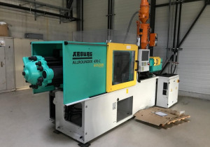 ARBURG 150 T 470 C -15000-400 Injection moulding machine