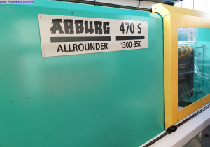 Arburg Allrounder 470 S 1300-350 Injection moulding machine