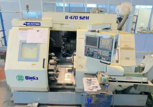 Used Biglia B470 S2M cnc lathe