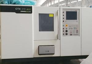 DMG CTX 310V3 EcoLine CNC turning &milling lathe
