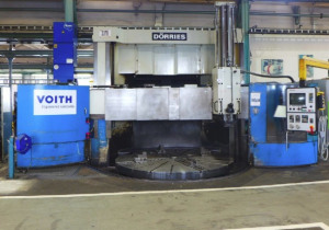 Dorries Sde 300 vertical turret lathe with cnc