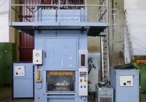 Edelhoff HZP 160 Hydraulic Double-Column Press