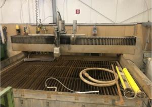 Flow WMCE 3020 waterjet cutting machine