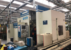 Used Liebherr LC 255 Cnc gear hobbing machine