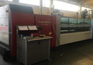 Mitsubishi ML 3015 EX CF R laser cutting machine