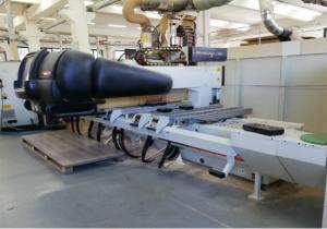 Morbidelli Author 430-S Wood CNC machining centre