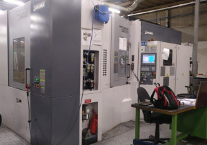 Used Okuma MA-500 HB 'Space Center' CNC Horizontal Machining Centre