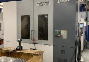 Used Okuma MA-600 HB 'Space Center' CNC Horizontal Machining Centre