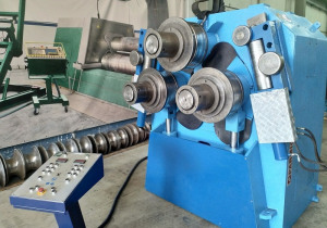 Angle roll  shaft 175 mm  pipe bending roll