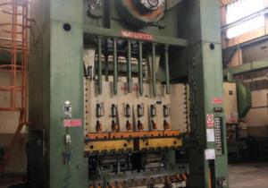 Used Rovetta F2 -2,7x1,6 double upright metal press
