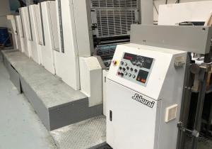 Sakurai  Oliver 472 ED II  Printing machine - Four Colour + Coater