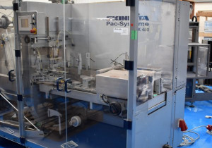 Skinetta ASK 450 Overwrapping machine with heat tunnel