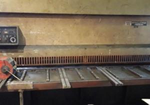Strojárne Piesok NTA 3150/10A hydraulic shear