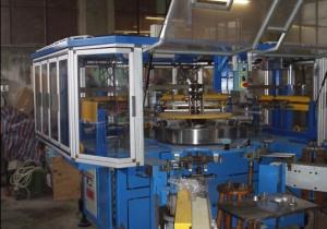 TECNO5  -4 colours automatic screen printing machine