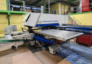 Trumpf TRUMATIC 3000R – 1300 CNC punching machine