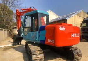 Used Crawler Excavator, Hitachi EX120 Track Excavator for Sale