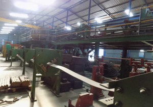 COMPLETE STEEL BEAM MANUFACTURING PLANT