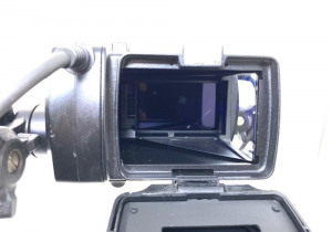 Sony PMW F55 cinealta camcorder with DVF L350 viewfinder 1400 hours