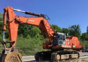 2005 Hitachi Ex1200-5C Track Excavator