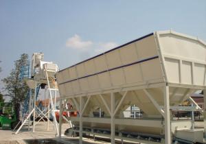 Stationary concrete batching plant SUMAB T-40