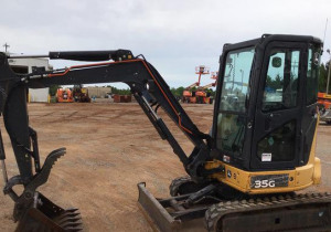 2015 John Deere 35G Mini Excavator