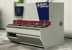 Plate shear SAFAN DARLEY - GS 2106 CNC Guillotine 2100 x 6 mm 6509 = Mach4metal