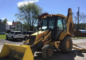 Tractopelle New Holland Lb75B 4X4