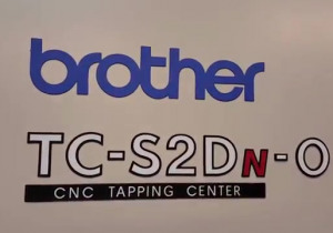 2011 BROTHER TCS2DN-O Drilling and Tapping Center