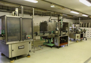 500-5000 Bottles/Hour Filling, Capping, And Labelling Line