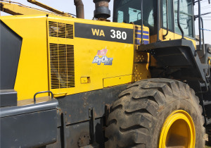 Used Komatsu WA380 wheel loader on Sale