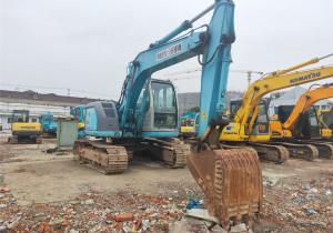Used Tracked Excavator, Kobelco SK135SR on Sale