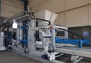 Block production line SUMAB R 1500