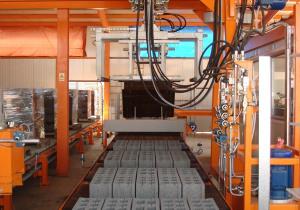 Block production line SUMAB R 1000