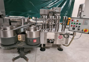 BOSCH  Mod. CFV C04 - Cartridge filling and capping machine used