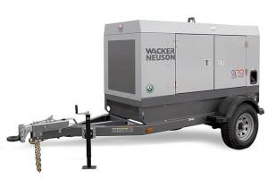 2020 Wacker Neuson G70 (T4i) Mobile Diesel Generator