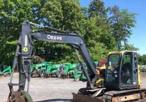 2014 John Deere 85G Mini Excavator