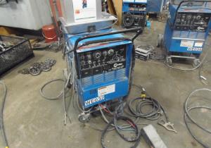 Miller Syncrowave 250 Tig Welder, Cooler, Gun, Cart