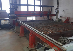 Plasma cutting machine PIERCE RUR 2500 G