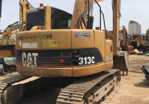 Used Caterpillar 313C Track Excavator on Sale