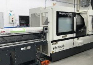 2018 Nakamura-Tome Sc-300 Ii L Multi-Axis Cnc Lathe With Lns Bar-Feeder