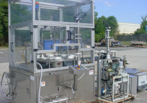 Terco Rotary Aerosol Filling System, Stainless Steel