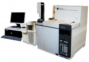 Wasson-ECE Agilent 7890B with 5975C MSD GCMS System with 3-Channel Gas Analysis