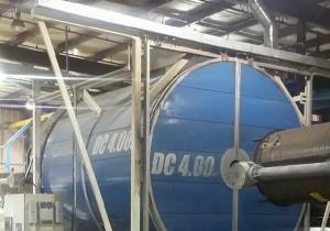 Machine de moulage par rotation Rotoline 4.00 Xt Shuttle