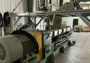 Used 63Mm Nanjing Giant Twin Screw Extruder