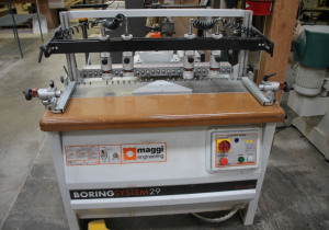 Used Maggi System 29 Boring Machine