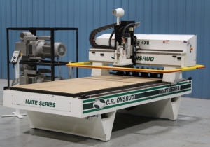 Routeur CNC d'occasion C.R. Onsrud modèle 97M12, série Mate 4' x 8'