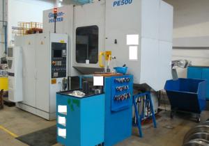 Gleason Pfauter  PE500 Cnc gear hobbing machine