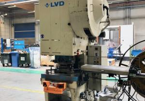 LVD DVDF63 C-frame press