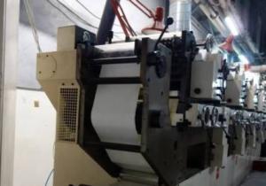 Nilpeter B200 Label printing machine