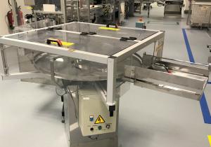 Neri/Marchesini/Garvens/Multipack labelling & packing line for round plastic bottles